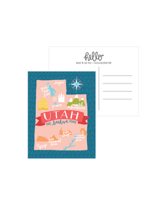 Alexa Zurcher - Utah Postcard (Pack of 5)