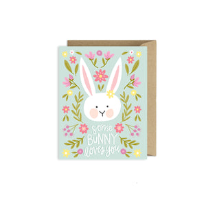 Alexa Zurcher - Some Bunny Loves You Easter Card