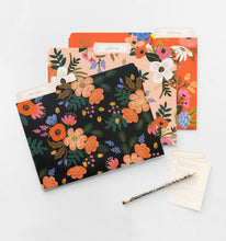 Load image into Gallery viewer, Rifle Paper Lively Floral File Folder Set