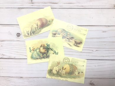 yesterday cards - easter postcards