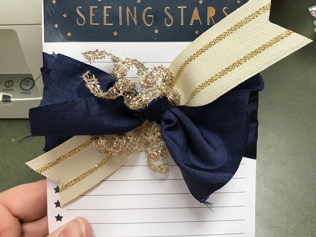 Seeing stars notepad