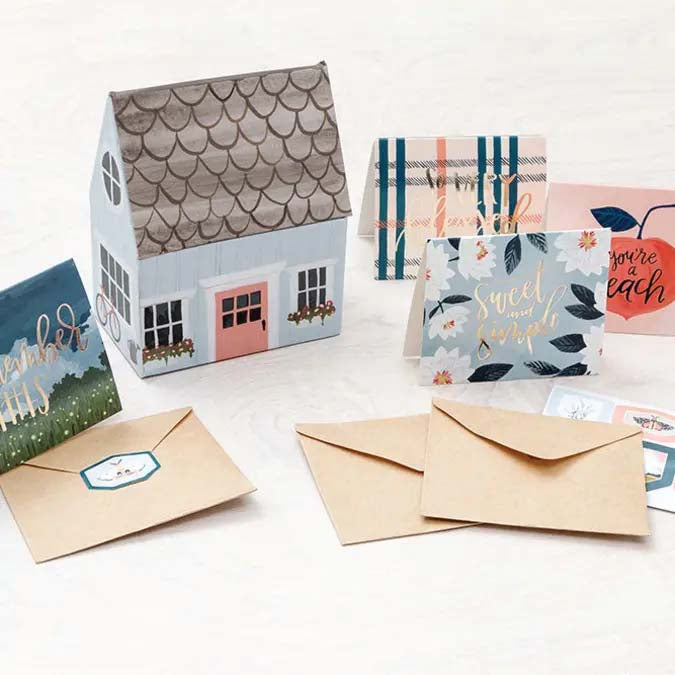 Twilight Cabin Box & Mini Enclosure Cards