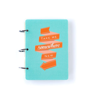 PLWT55-PAPER LOVE TRAVEL JOURNAL KIT