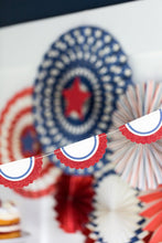 Load image into Gallery viewer, SSP206 STARS & STRIPES MINI BANNER-BUNTING