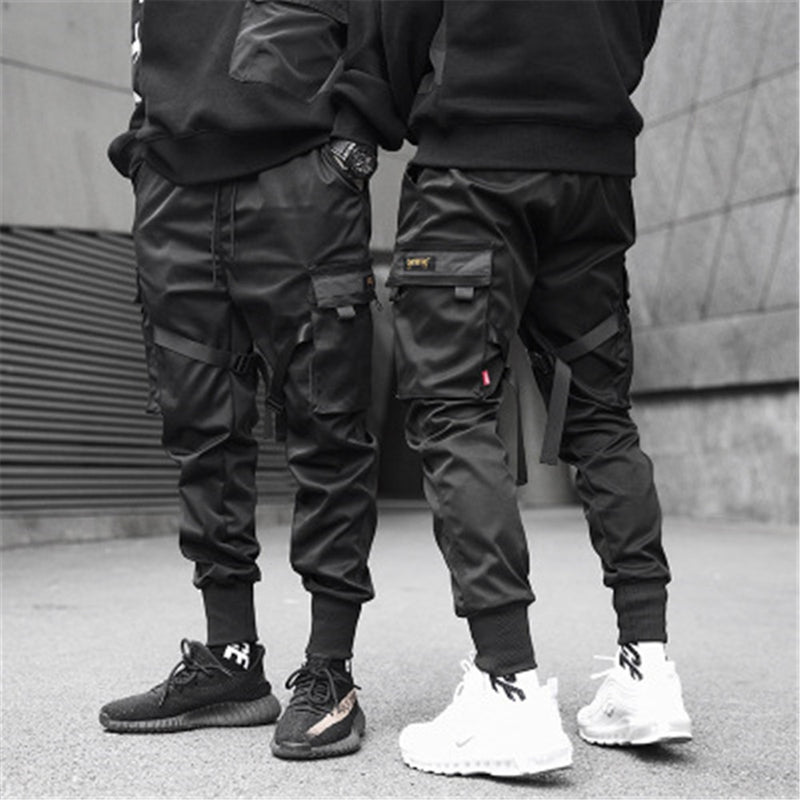 Front and back of japanese techwear pants