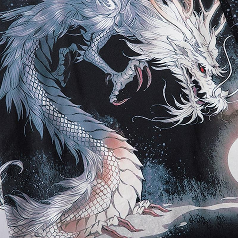White dragon patterns