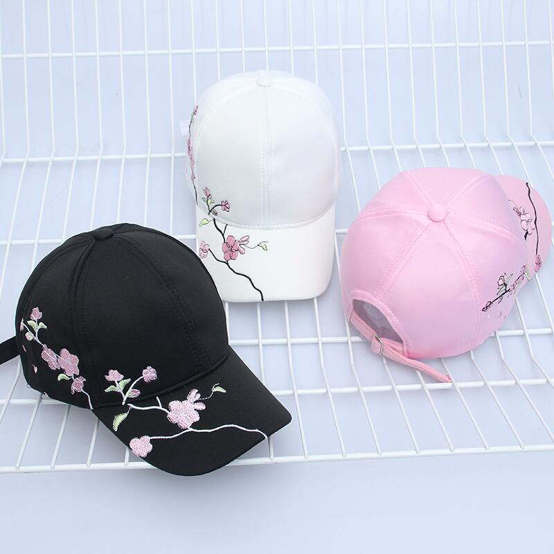3 Colors japanese cherry blossom dad hat (4288627310679)