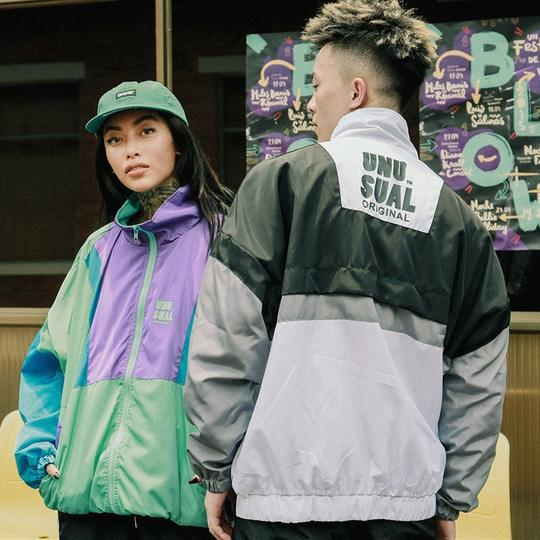 Japanese vintage inspired windbreaker  (2183364673585)