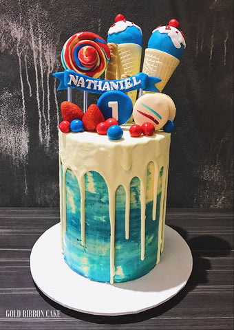 Lollies Overloaded Cake
