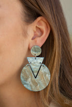 Load image into Gallery viewer, Paparazzi - Head Under WATERCOLORS - Blue Earrings - Classy Jewels by Linda