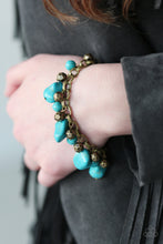 Load image into Gallery viewer, Paparazzi - Practical Paleo - Brass Bracelet - Classy Jewels by Linda