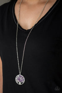 Paparazzi - Naturally Nirvana - Purple Necklace Set - Classy Jewels by Linda