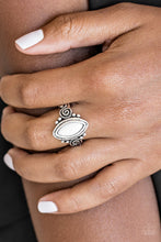 Load image into Gallery viewer, Paparazzi - ZOO Hot To Handle - White Ring - Classy Jewels by Linda