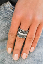 Load image into Gallery viewer, Paparazzi - Sahara Style Silver Ring - Classy Jewels by Linda