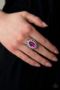 Paparazzi-   Royal Radiance - Pink Ring - Classy Jewels by Linda