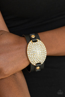 Paparazzi - Better Recognize - Gold Bracelet - Classy Jewels by Linda