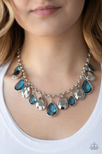 Load image into Gallery viewer, Paparazzi - CLIQUE-bait - Blue Necklace Set - Classy Jewels by Linda