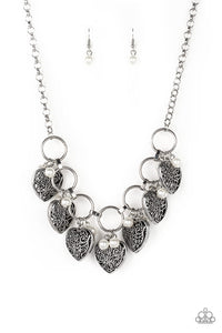 Paparazzi - Very Valentine - White Necklace Set - Classy Jewels by Linda