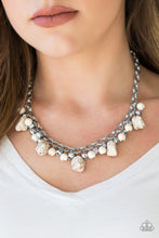 Load image into Gallery viewer, Paparazzi - Paleo Princess - White Necklace Set - Classy Jewels by Linda