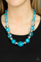 Load image into Gallery viewer, Paparazzi - Dine and Dash - Blue Necklace Set - Classy Jewels by Linda