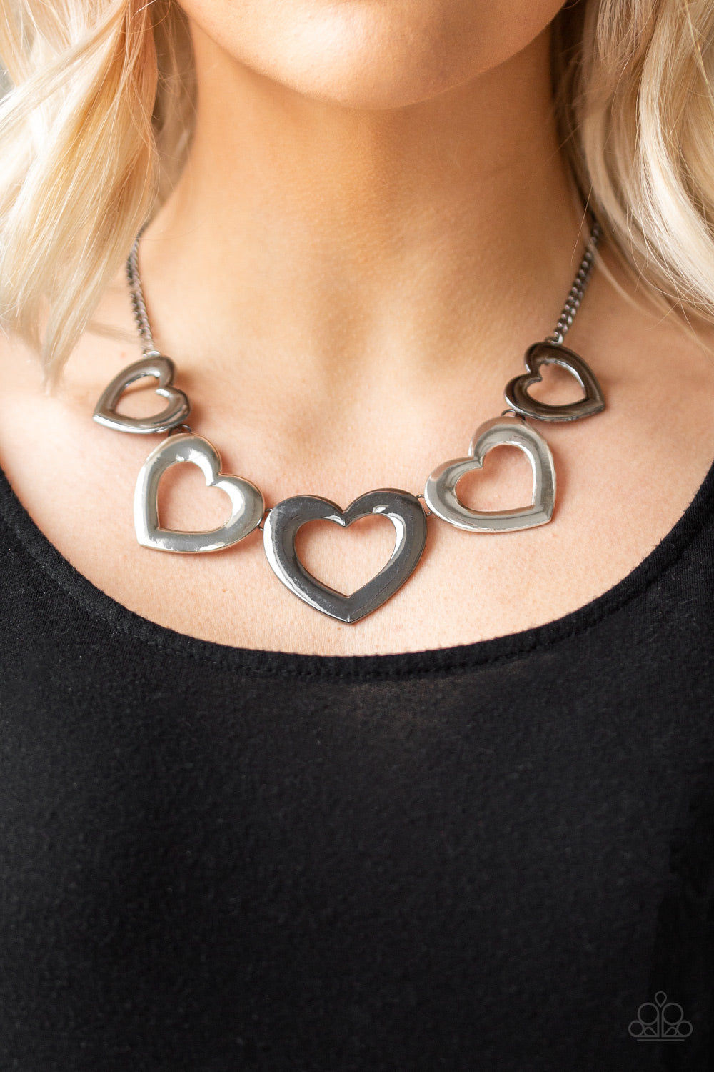 Paparazzi - Hearty Hearts - Multi Necklace Set - Classy Jewels by Linda