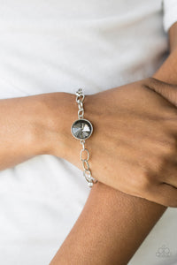 Paparazzi - All Aglitter - Silver  Bracelet - Classy Jewels by Linda