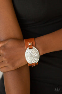 Paparazzi - Better Recognize - Brown Bracelet - Classy Jewels by Linda