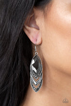 Load image into Gallery viewer, Paparazzi - High-End Highness - Silver Earrings - Classy Jewels by Linda