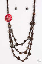 Load image into Gallery viewer, Paparazzi - Jungle Jive - Red Wood Necklace Set - Classy Jewels by Linda