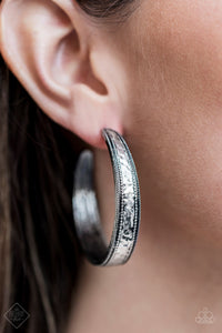 Paparazzi - Soul Train Silver Earrings - Classy Jewels by Linda