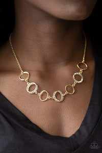 Paparazzi - Inner Beauty - Gold Necklace Set - Classy Jewels by Linda