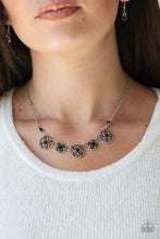 Load image into Gallery viewer, Paparazzi - Floral Florescence - Black Necklace Set - Classy Jewels by Linda