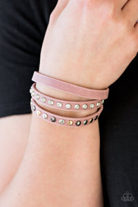 Paparazzi - Catwalk Casual - Pink Bracelet - Classy Jewels by Linda