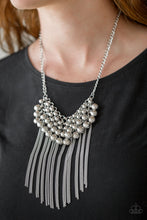 Load image into Gallery viewer, Paparazzi - DIVA-de and Rule - Silver Necklace Set - Classy Jewels by Linda
