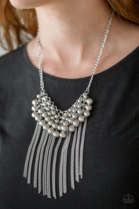 Paparazzi - DIVA-de and Rule - Silver Necklace Set - Classy Jewels by Linda