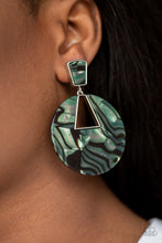 Load image into Gallery viewer, Paparazzi -   Let HEIR Rip! - Green Acrylics Earrings - Classy Jewels by Linda