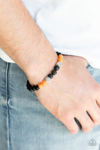 Paparazzi - Proverb - Orange Bracelet - Classy Jewels by Linda