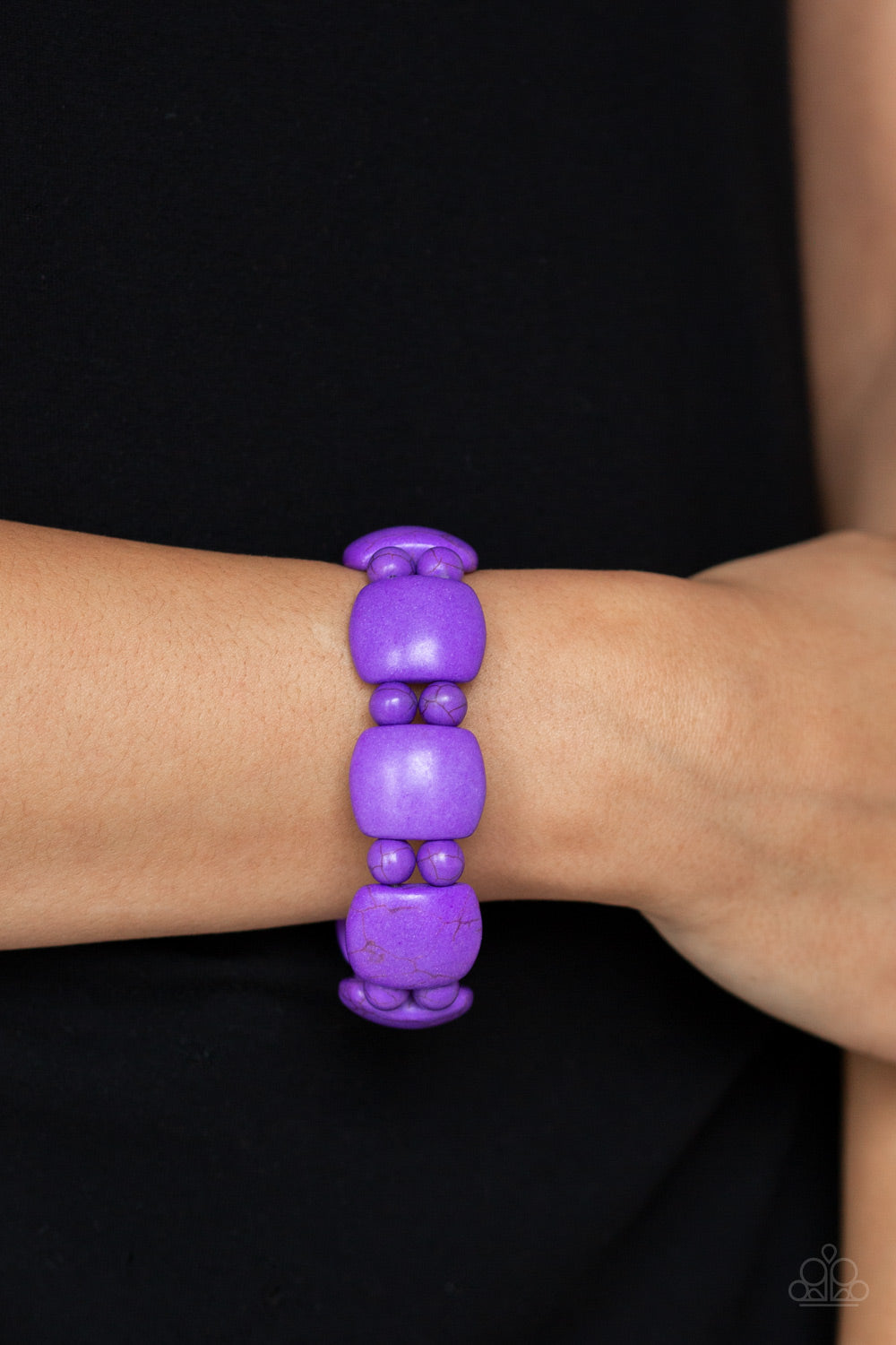Paparazzi - Dont Be So NOMADIC! - Purple Bracelet - Classy Jewels by Linda