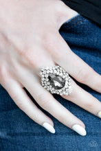 Load image into Gallery viewer, Paparazzi - Hollywood Heiress - Silver Ring - Classy Jewels by Linda