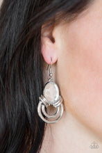 Load image into Gallery viewer, Paparazzi - Real Queen - White Earrings - Classy Jewels by Linda