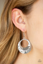 Load image into Gallery viewer, Paparazzi - Savory Shimmer - Silver Earrings - Classy Jewels by Linda
