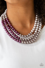 Load image into Gallery viewer, Paparazzi - Times Square Starlet - Purple Necklace Set - Classy Jewels by Linda