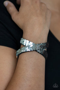 Paparazzi - Under The SEQUINS - Rose Gold Bracelet - Classy Jewels by Linda
