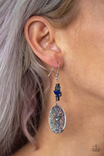 Load image into Gallery viewer, Paparazzi - Adobe Dweller - Blue Earrings - Classy Jewels by Linda