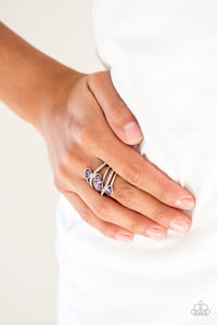 Paparazzi - Bling Dream - Purple Ring - Classy Jewels by Linda