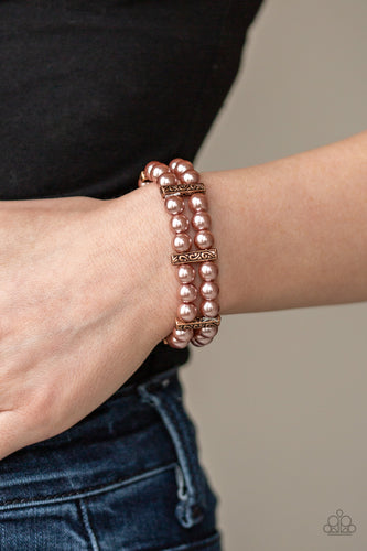 Paparazzi - Modern Day Mariner - Copper Bracelet - Classy Jewels by Linda