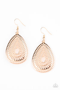 Paparazzi - You Look GRATE! - Gold Earrings - Classy Jewels by Linda