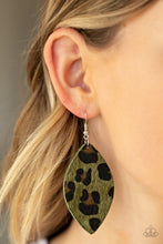 Load image into Gallery viewer, Paparazzi - GRR-irl Power! - Green Earrings - Classy Jewels by Linda