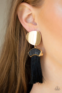 Paparazzi - Insta Inca - Gold Earrings - Classy Jewels by Linda