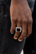 Load image into Gallery viewer, Paparazzi -The Titan - Black Mens Ring - Classy Jewels by Linda